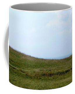 Hill Top And Sky Coffee Mug