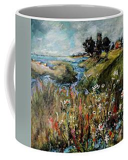 Hill Top Wildflowers Coffee Mug