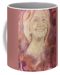 Hillary Clinton Coffee Mug by Raymond Doward