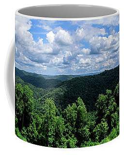 Hills And Clouds Coffee Mug