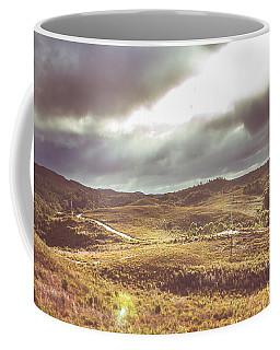 Hills And Outback Tracks Coffee Mug