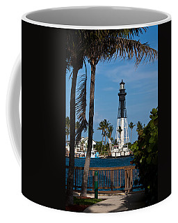 Hillsboro Inlet Lighthouse And Park Coffee Mug