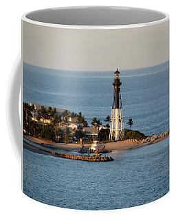 Hillsboro Lighthouse In Florida Coffee Mug