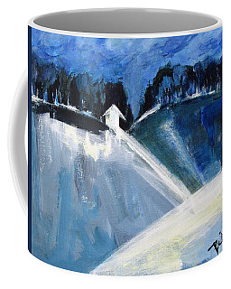 Hillside In Winter Coffee Mug