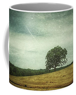 Hillside Tree 4 Coffee Mug