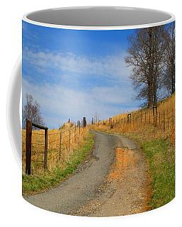 Hilltop Driveway Coffee Mug