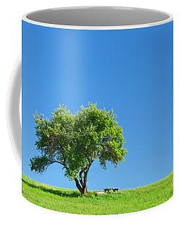 Hilltop Picnic Coffee Mug by Alan L Graham