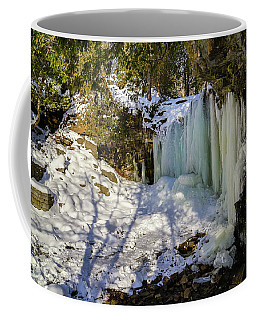 Hilton Falls In Winter Coffee Mug by Gary Hall
