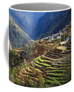 Himalayan Terraced Fields Coffee Mug
