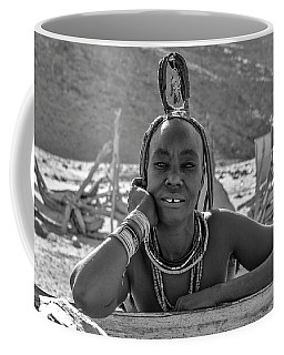 Coffee Mug featuring the photograph Himba Portrait 2 by Rand