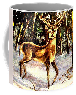Hinds Feet Coffee Mug by Hazel Holland