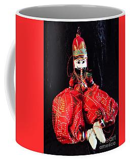 Hindu Male Musician Doll Coffee Mug