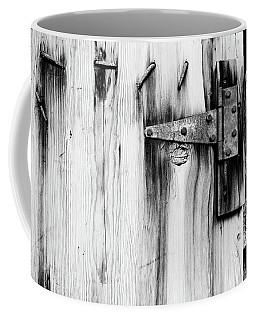 Hinged In Black And White Coffee Mug
