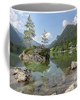 Coffee Mug featuring the photograph Hintersee, Bavaria by Andreas Levi