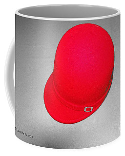 Hints Of Red - Hat Coffee Mug