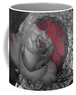 Hints Of Red - Rose Coffee Mug