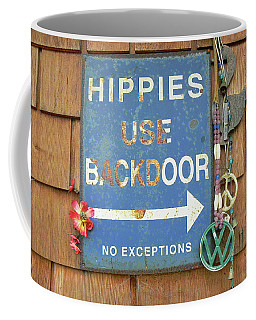 Hippie Sign Coffee Mug