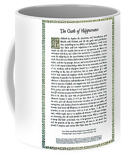 Hippocratic Oath, 1938 Coffee Mug