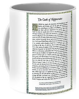 Hippocratic Oath, 1938 Coffee Mug by Science Source