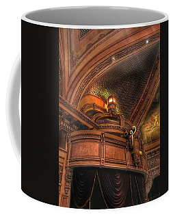 Coffee Mug featuring the photograph Hippodrome Theatre Balcony - Baltimore by Marianna Mills