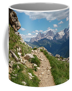 Coffee Mug featuring the photograph Hirzelsteig, South Tyrol by Andreas Levi