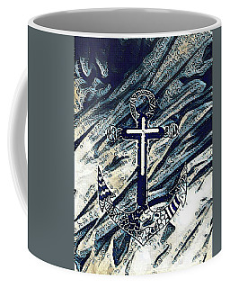 His Anchor Holds Coffee Mug