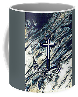 His Anchor Holds Coffee Mug