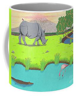 His Backward Glance Coffee Mug