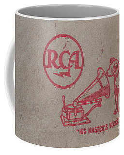 Coffee Mug featuring the photograph His Masters Voice Rca by Edward Fielding