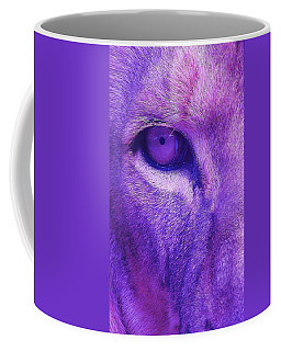 Coffee Mug featuring the photograph His Royal Eyeness by Margaret Bobb