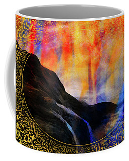 Coffee Mug featuring the photograph His Spirit by Karo Evans
