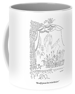 His Wife Poisons Him In The Third Act Coffee Mug