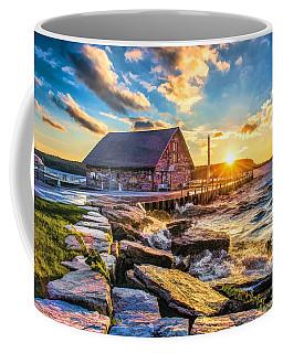 Historic Anderson Dock In Ephraim Door County Coffee Mug