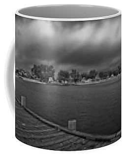 Historic Anna Maria City Pier In Infrared Coffee Mug