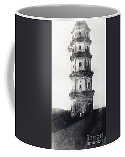 Historic Asian Tower Building Coffee Mug