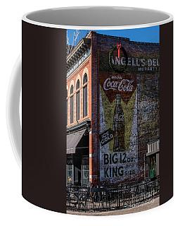 Historic Coca Cola Brick Ad - Fort Collins - Colorado Coffee Mug by Gary Whitton