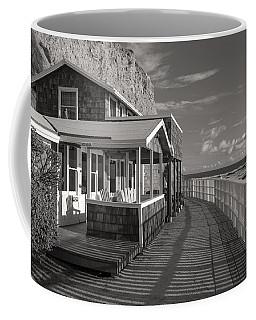 Historic Cottage  Crystal Cove Black And White Coffee Mug
