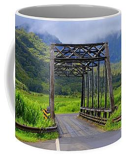 Historic Hanalei Bridge - Kauai Hawaii Coffee Mug