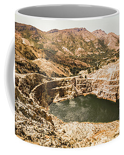 Historic Iron Ore Mine Coffee Mug