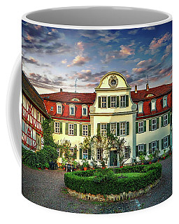 Historic Jestadt Castle Coffee Mug by Anthony Dezenzio