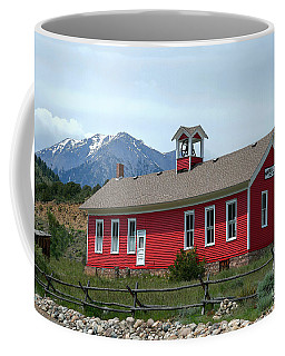Historic Maysville School In Colorado Coffee Mug by Catherine Sherman