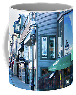 Coffee Mug featuring the photograph Historic Newport Buildings by Nancy De Flon