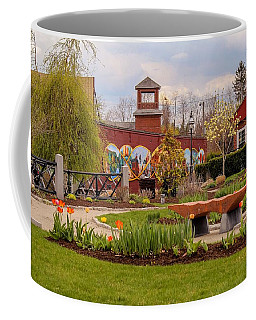Historic Rail Station, Manhan Rail Trail Easthampton Coffee Mug