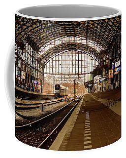 Historic Railway Station In Haarlem The Netherland Coffee Mug