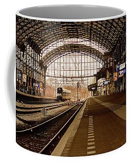 Historic Railway Station In Haarlem The Netherland Coffee Mug