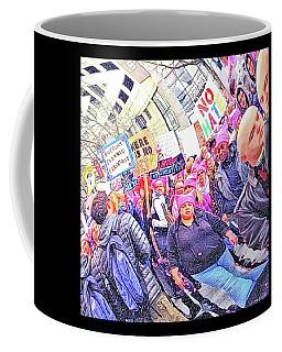 Historic Times Coffee Mug by Tobeimean Peter