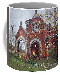 Historic Union Street Train Station In Lockport Coffee Mug