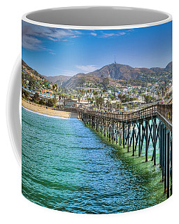 Historic Ventura Wood Pier Coffee Mug