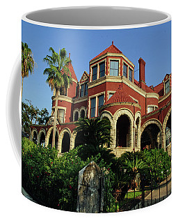 Coffee Mug featuring the photograph Historical Galveston Mansion by Tikvah's Hope