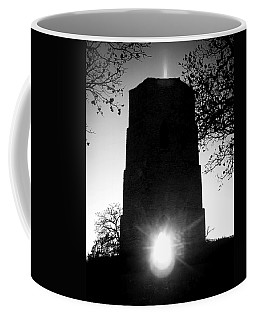 Coffee Mug featuring the photograph Historical Water Tower At Sunset by Viviana  Nadowski